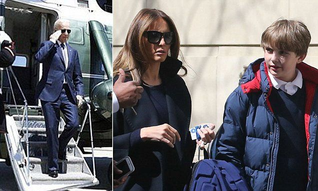 VP Biden's trips commuting from D.C. to his home cost a fortune #DailyMail... Blowhards against Melanie staying in New York..