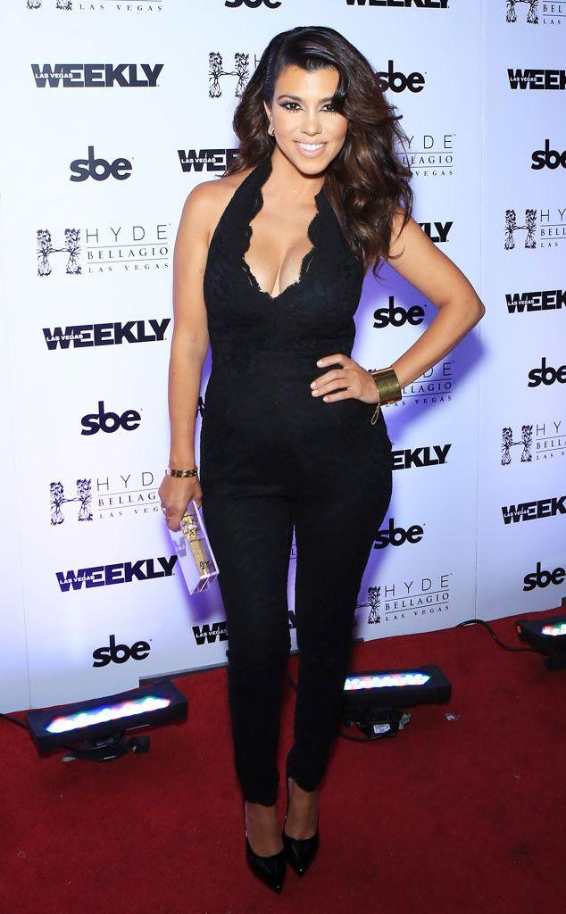 Sexy Onesie from Kourtney Kardashian's Mommy Style | E! Online