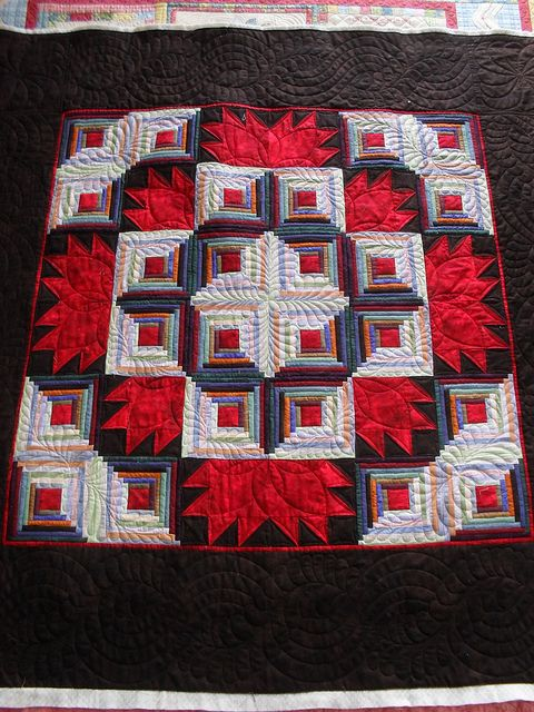 147 Best Log Cabin Quilts Images On Pinterest Log Cabin
