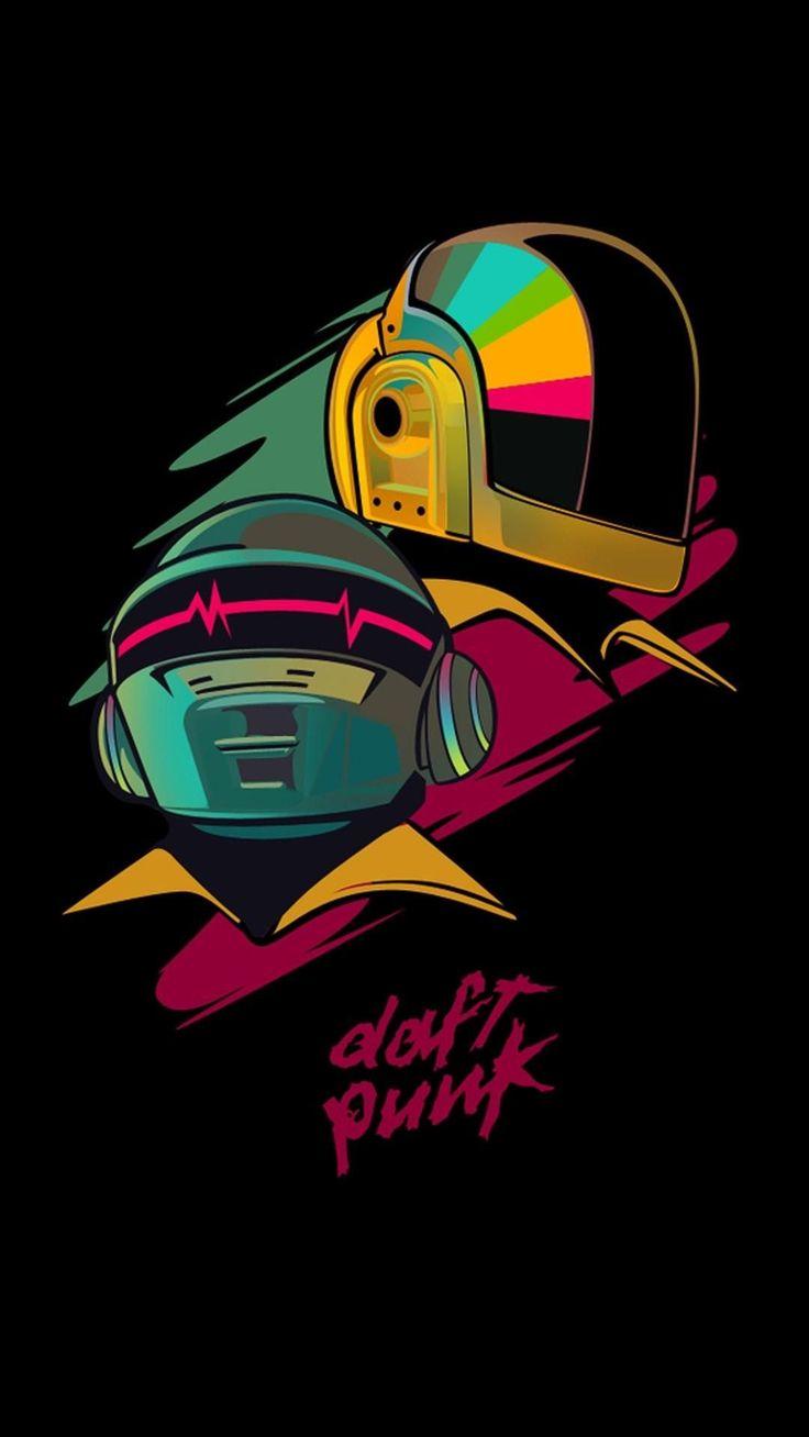 Daft Punk#daft #punk en 2020 | Punk dibujo, Daft punk ...
