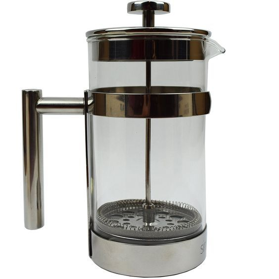 Simple Modern French Press Coffee and Tea Maker - 1 Liter - Double Filter - Bonus Coffee Spoon (1 Liter) - Best Coffee Press Pot with Stainless Steel and Heat Resistant Glass * You can find more details by visiting the image link.