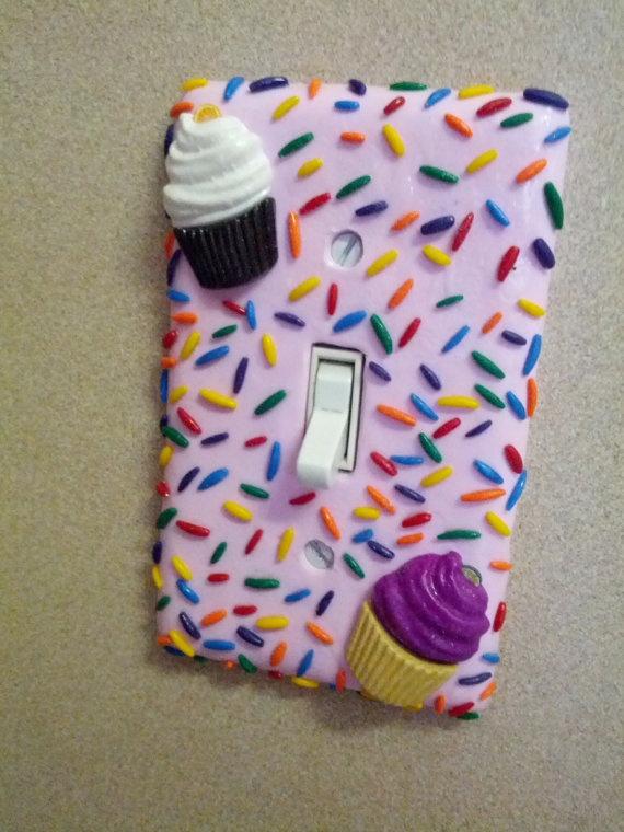 Cupcake Sweet Light Switch by 2009ladybugz on Etsy, $10.00