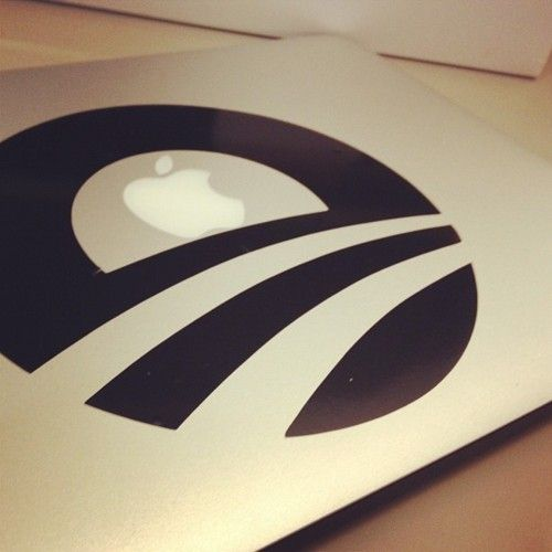 Handsome laptop decal