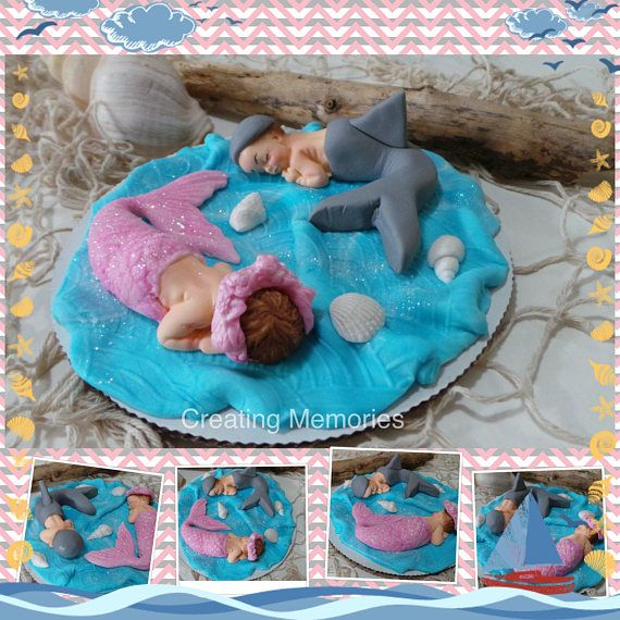 All items are handmade with gum paste and Satin Ice fondant. Our Babies are a wonderful memento to save from your event as they will last for many years if properly cared for in a clean and dry environment. Even though these items are made of edible material, they are NOT to be eaten because