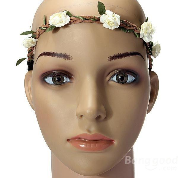 Дешевое [ buygood ] девушки невесты корона бохо розы цветочные венки для волос группа, Купить Качество Светодиодные лампы и трубки непосредственно из китайских фирмах-поставщиках:                            1. мы не настоящий номер для отслеживания заказов <$15