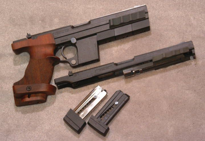 A Hammerli Model 280 Match Pistol In 32 S Long Wad Cutter