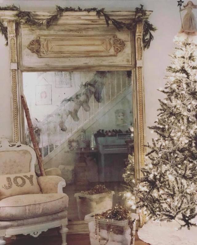 Stile Shabby Chic Natale.Decorare Casa Per Il Natale In Stile Shabby Chic All