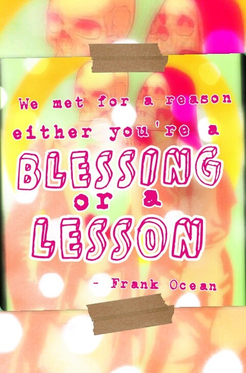 Frank Ocean lyrics