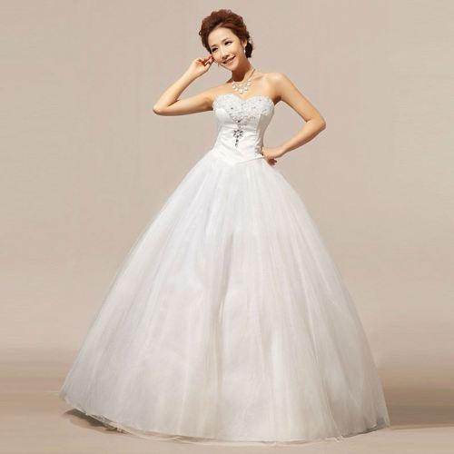 Vestido de Noiva ou Debutante Novo com Etiqueta