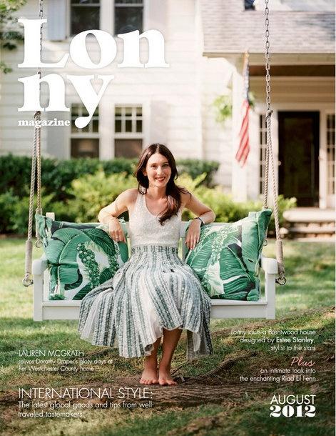 Lonny Magazine - August 2012