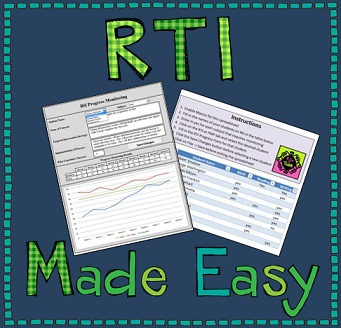 Progress monitor multiple student's for RTI's and PMP's with this easy to use graph generator and data organizer .  It allows you to keep all students graphs and info in the same location and search for them using a drop-down menu by student and subject.  $5.88