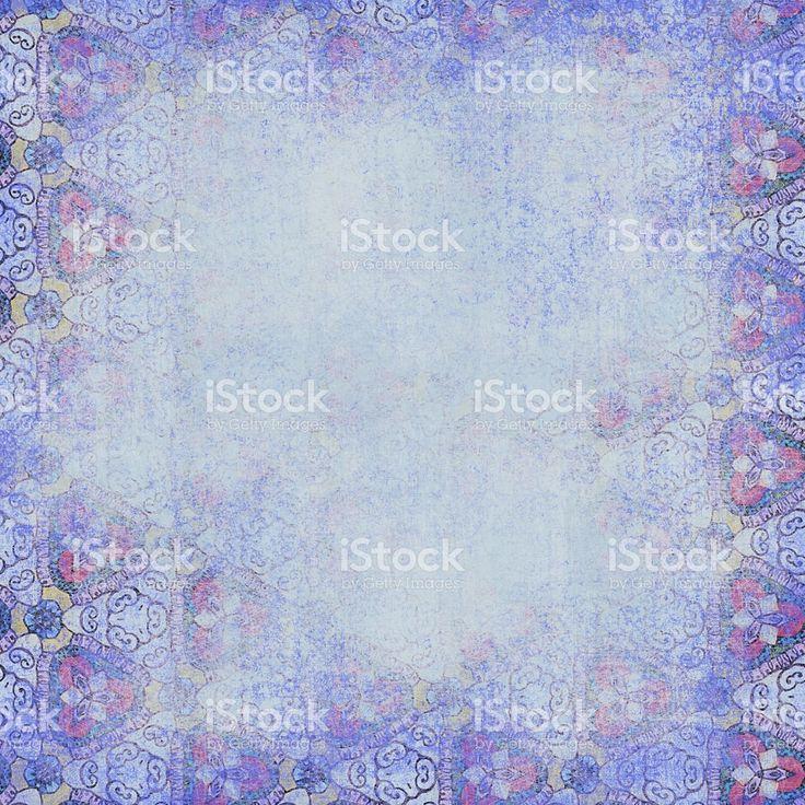 Синий фон. Потёртый рисунком. роялти-фри стоковая иллюстрация