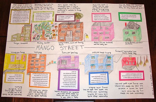 The house on mango street project