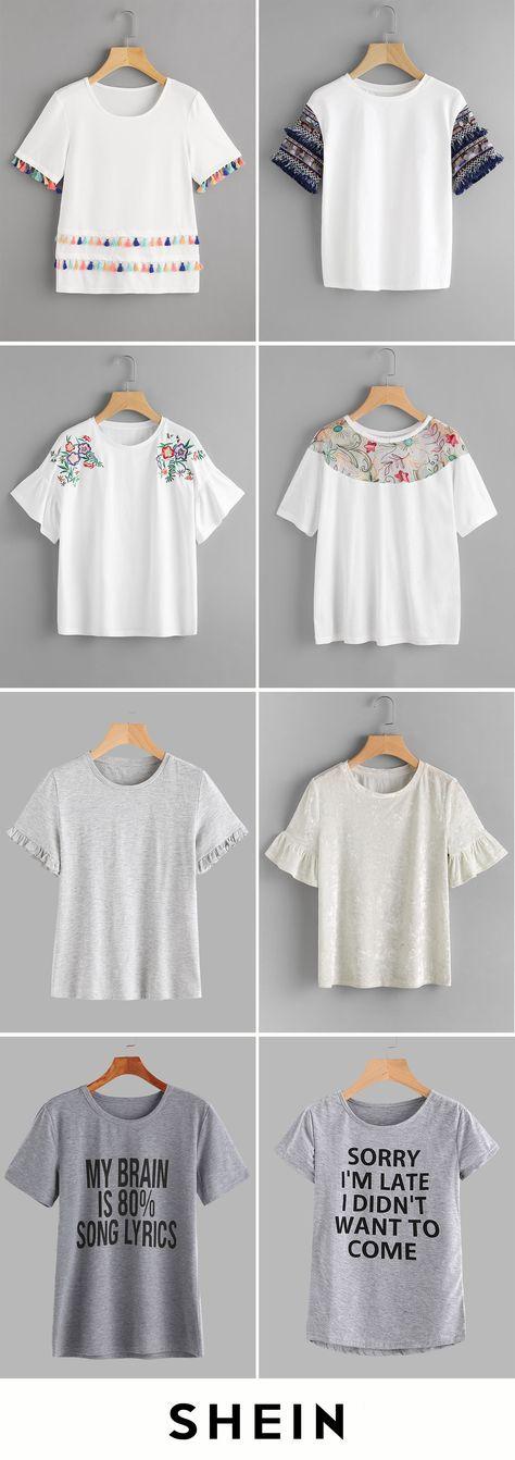 Cheap T-shirts start at $6!