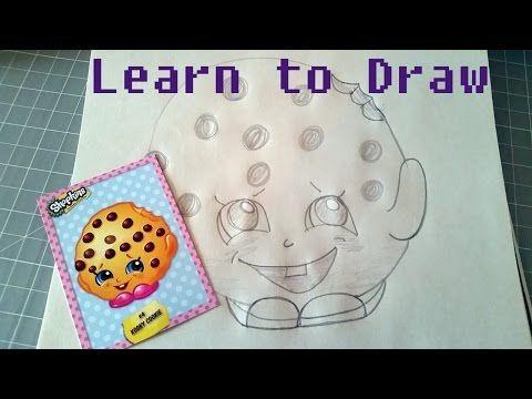 how to draw a donut shopkin