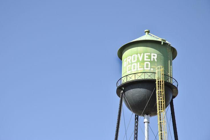 Town of Grover in Colorado