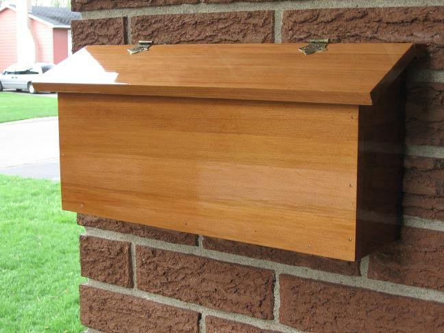 Article Image Crafts Pinterest Wooden Mailbox Diy