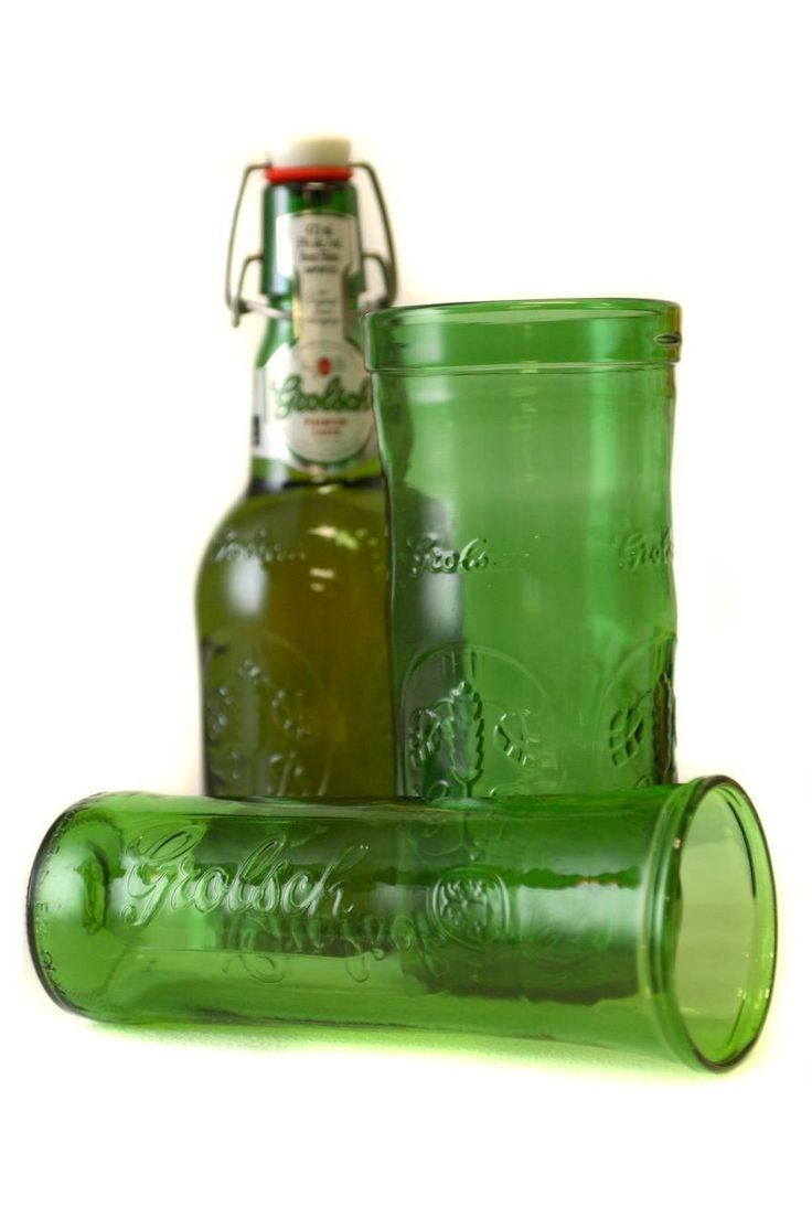 Upcycled Beer glass
