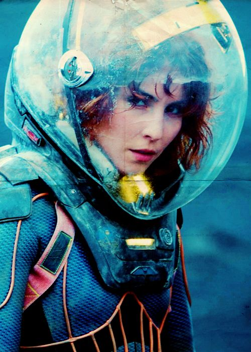Shaw in Prometheus - the woman who performed an abdominal operation on herself.