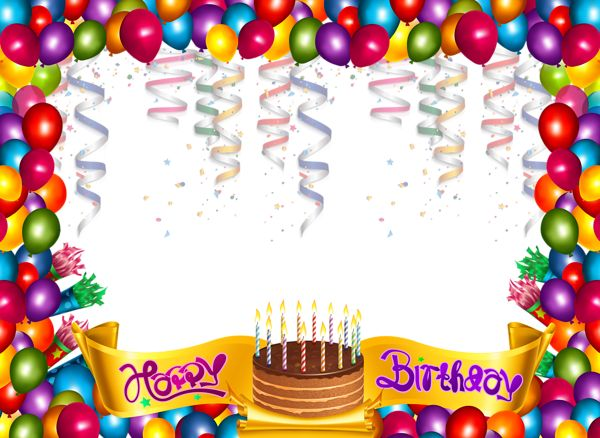 59 best Birthday Borders images on Pinterest Tags, DIY and Balloons - birthday wish template