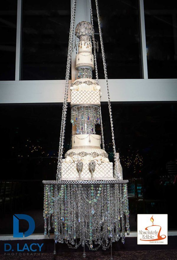 Absolutely Edible Cakes Chandelier Cake
