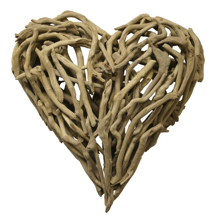 Driftwood Heart (small)