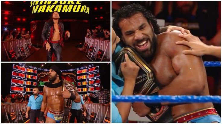WWE Hell in a Cell results: Jinder Mahal vs. Shinsuke Nakamura for the WWE Champ...