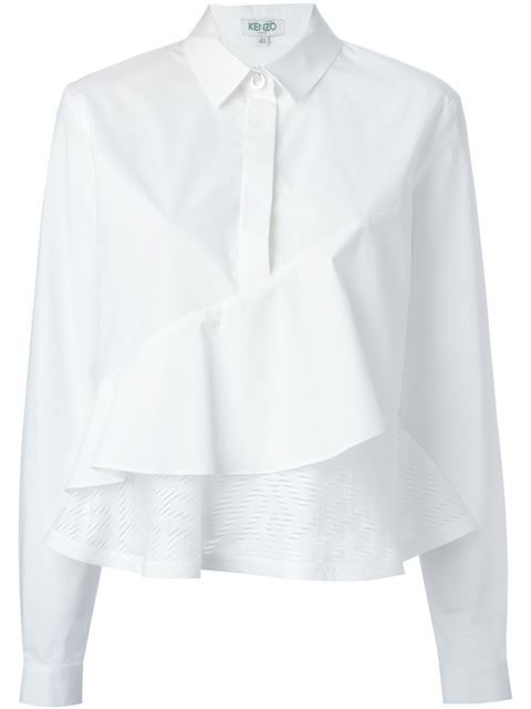 Shop Kenzo 'Maze' panel tiered shirt in Leam from the world's best independent boutiques at farfetch.com. Shop 300 boutiques at one address.