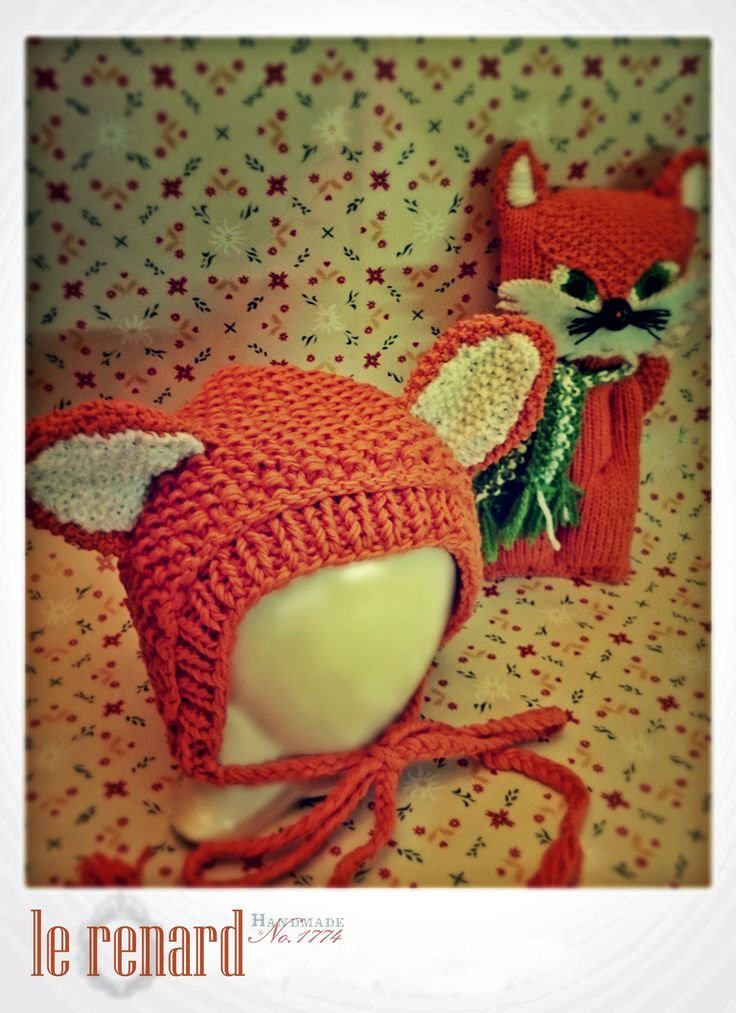 Babyprops - Handmade - Fox