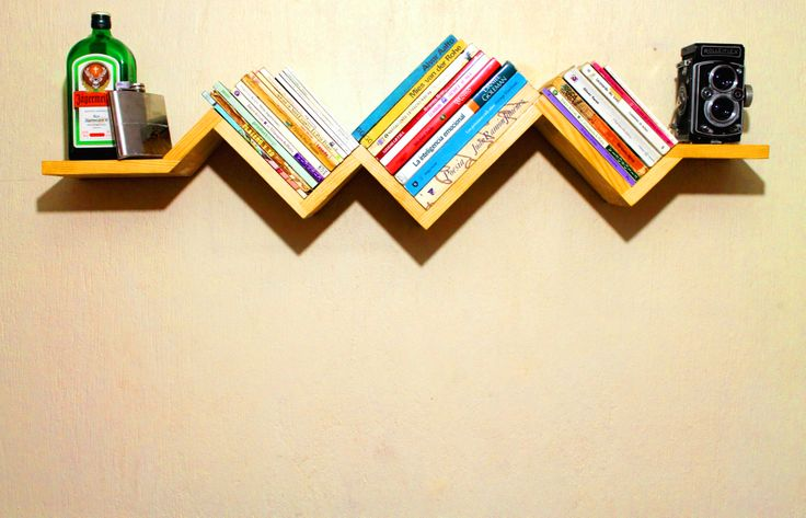 KARDIA | Diseño de repisa flotante | Bookshelf design by Benjamín Camarena