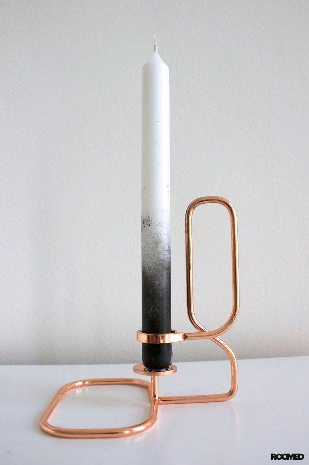DIY: kaarsen met ombre effect - Roomed
