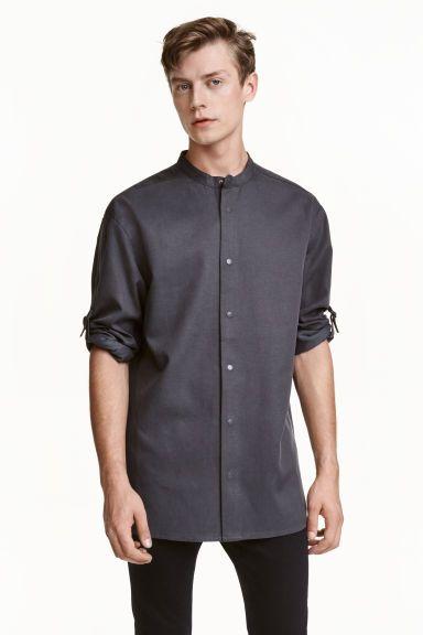 Koszula z lyocellem   H&M