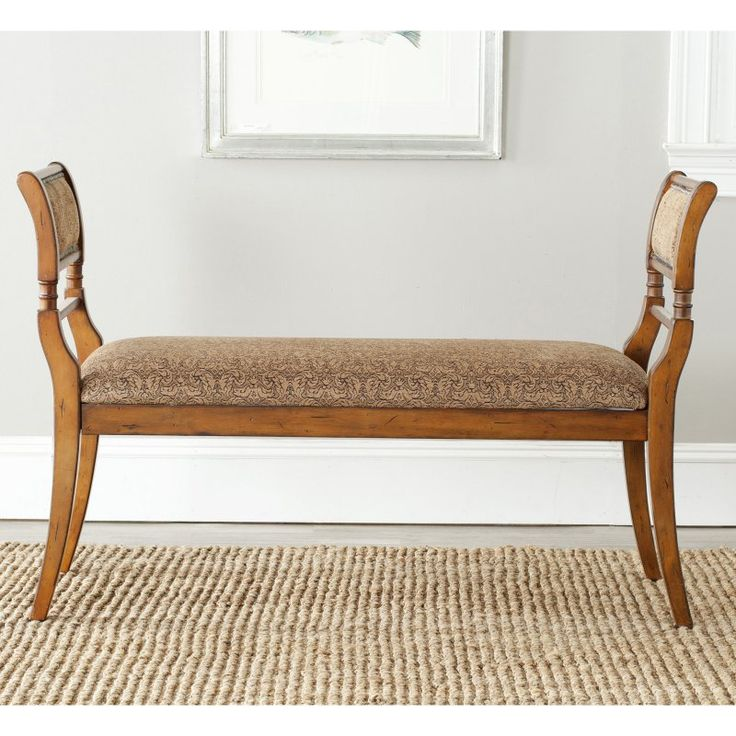 Safavieh Brody Upholstered Bench - AMH4022A