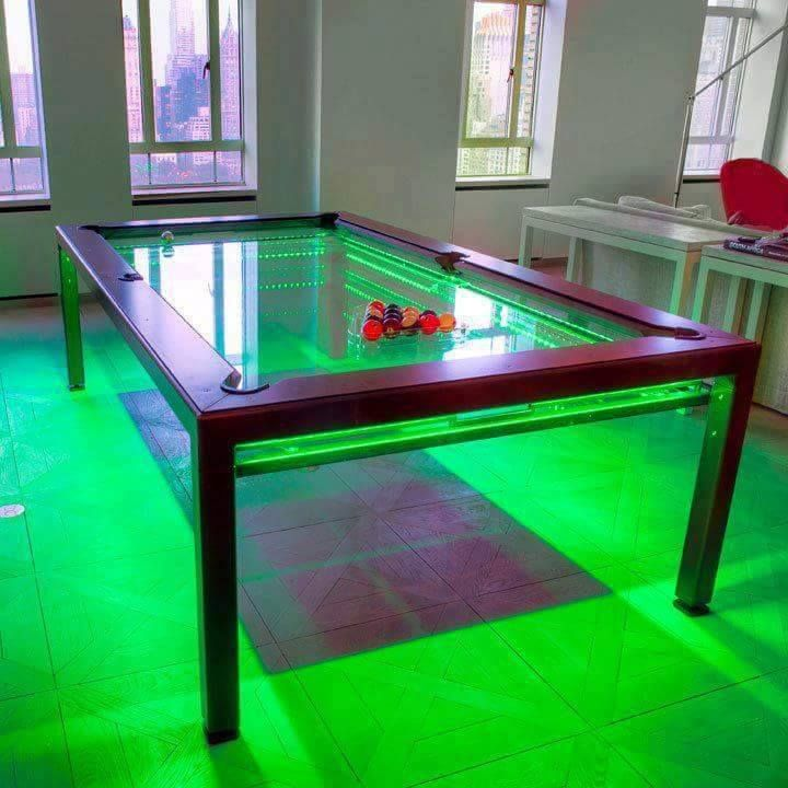 Pool Tables For Sale Transform The Game Room From Mundane To Mind Blowing!  A Pool Table For Sale From Billiard Factory Attracts Family And Friends For  ...