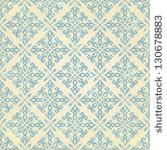 Vintage seamless pattern. EPS 10 vector illustration. - stock vector
