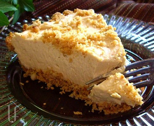 Peanut Butter Pie. If you love peanut butter...you might, maybe, sorta like this.