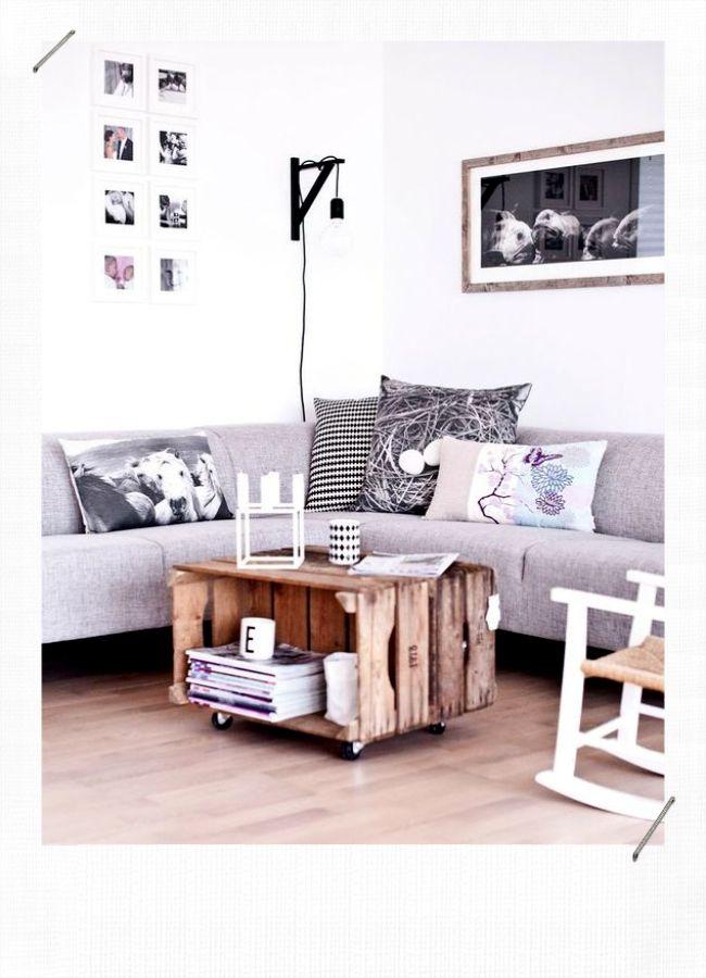 10 Idees Deco Avec Des Caisses En Bois Misszastyle Blog Deco Meuble Deco Mobilier De Salon Table Basse