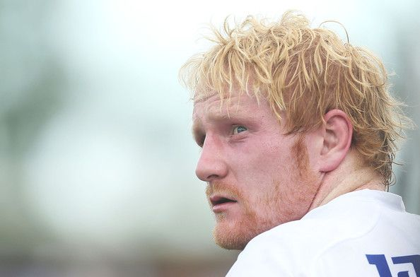 James Graham of the Bulldogs looks on during the round three NRL match between the Penrith Panthers and the Canterbury-Bankstown Bulldogs at...