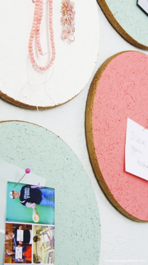 DIY Custom Cork Board IKEA Hack | Shelterness