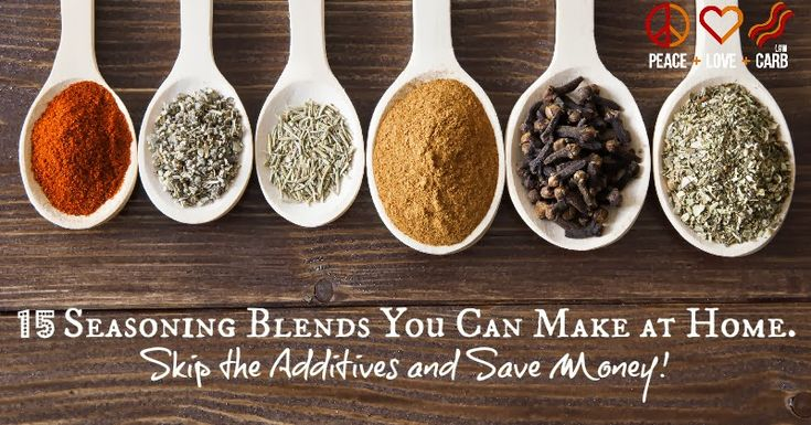 15 Seasoning Blends You Can Make At Home.