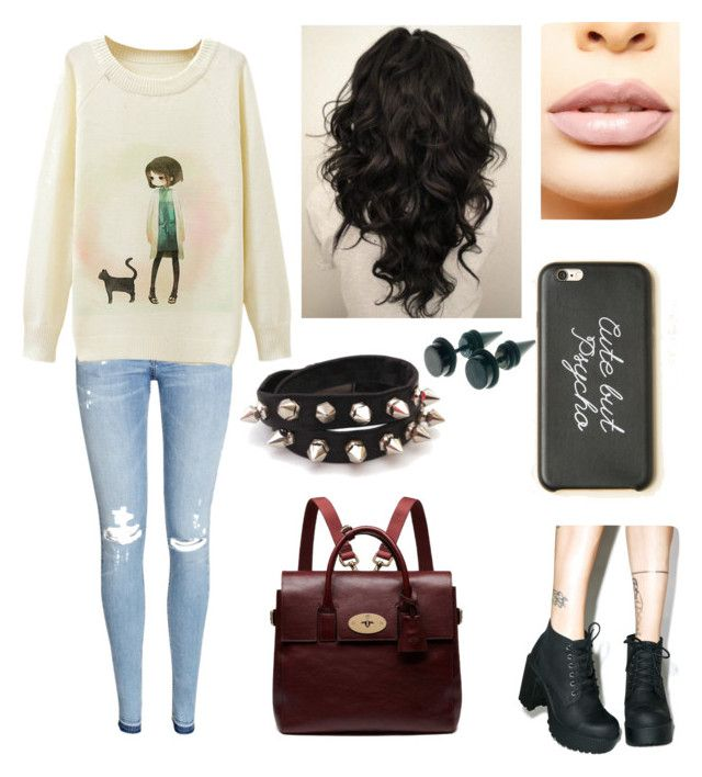 """""""••(^ v ^)••"""" by cristinazaragoza on Polyvore featuring H&M, ROC, LASplash and Mulberry"""