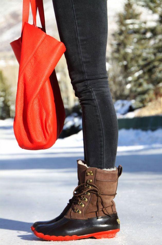 Best 25 Sperry Duck Boots Womens Ideas On Pinterest