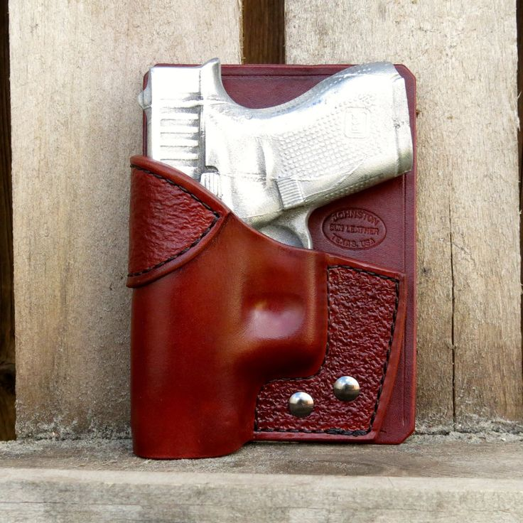 Combo Pocket Holster Wallet Holster with by JohnstonGunLeather