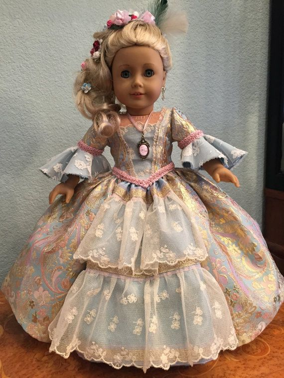 Marie Antoinette by SmallWorldCouture on Etsy