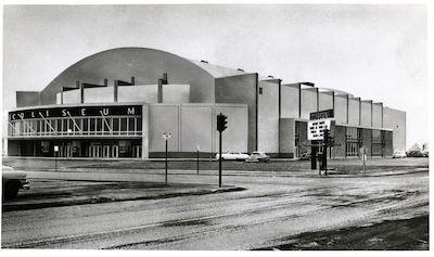 Spokane Coliseum aka the 'Boone Street Barn