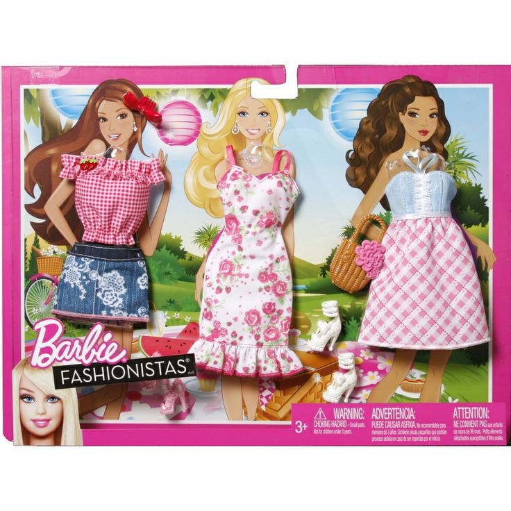 Barbie® Fashionistas® Picnic Fashion Pack - Shop.Mattel.com