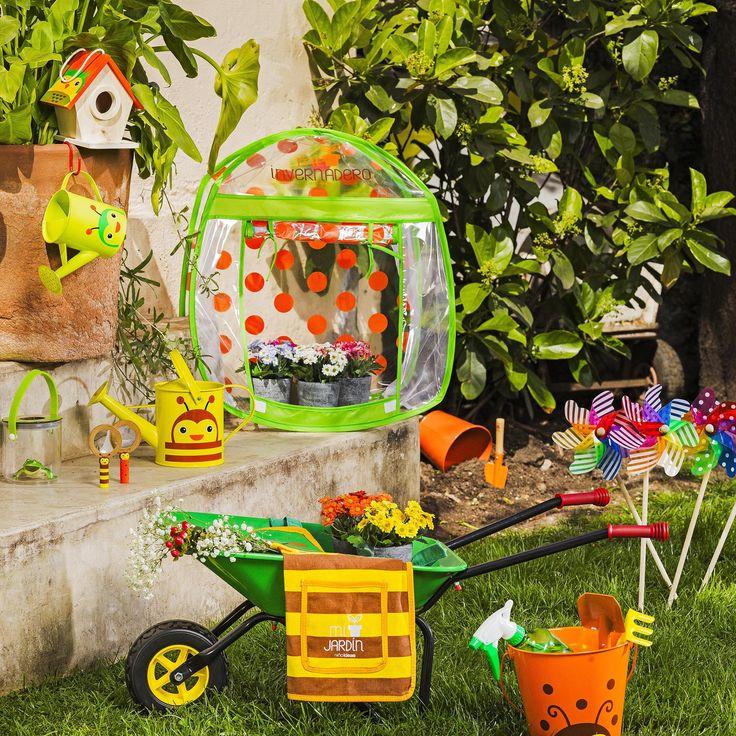 Para que los niños se enamoren de su jardín. Primavera - Verano 2017.