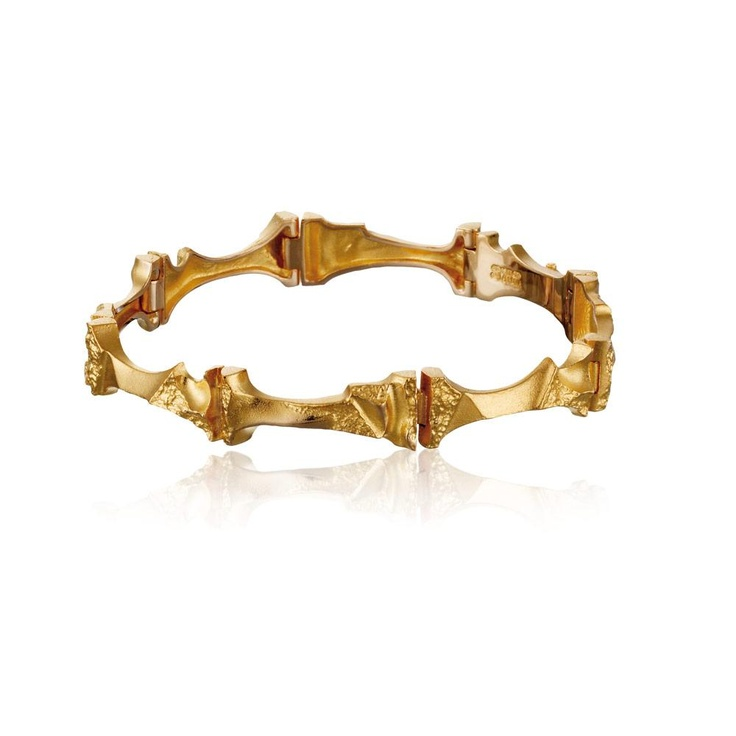 MUKKA  Design Björn Weckström / Gold Bracelet / Lapponia Jewelry / Handmade in Helsinki