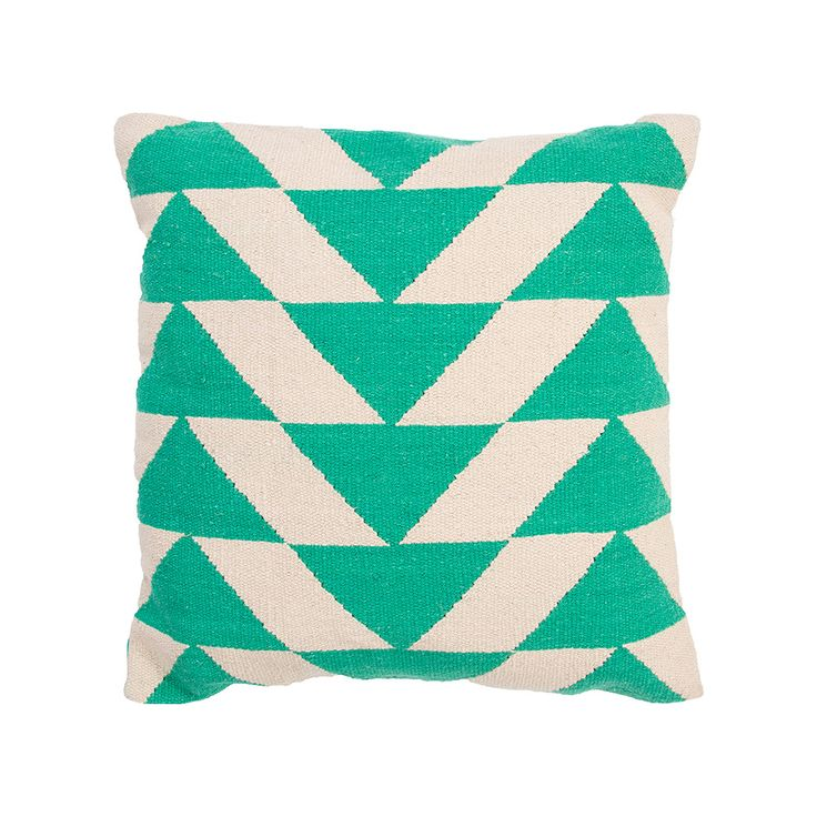 Flatweave Geometrics Pillow | dotandbo.com