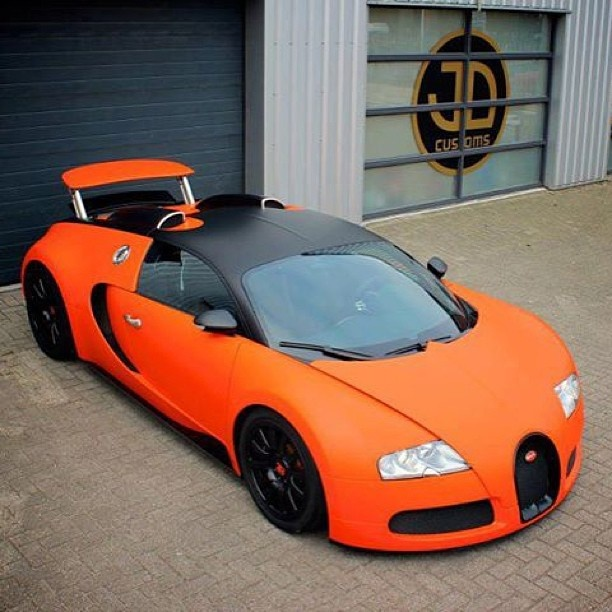 Love This Bugatti So Much! Burnt Orange And Black!